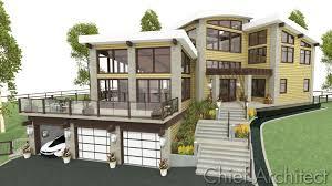 Steep Hillside Home Designs Steep Hillside Home Plans New House For Sloping Lots Elegant