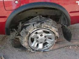 Image result for tire blowout