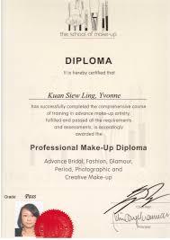 professional makeup diploma