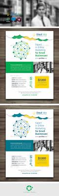 cloud idea flyer templates by grafilker02 graphicriver cloud idea flyer templates corporate flyers
