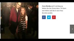 Ellecom Maddie Zieglers Behind The Scenes New York Fashion Week Ellecom