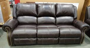 Costco Sale Berkline Leather Reclining Sofa $799 99
