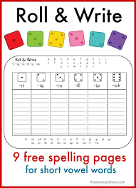 Learn to spell short vowel words with these fun printables ...