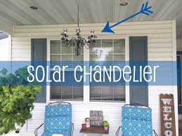 outdoor solar chandelier 87