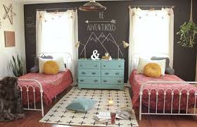 kids bedroom for teenage girls. Exellent Bedroom Bohoinspired Shared Bedroom For Teen Girls In Kids Bedroom For Teenage Girls E