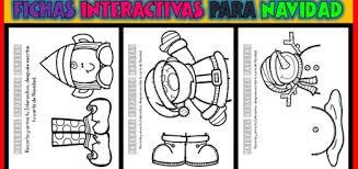 Láminas, fichas, manualidades recortables con dibujos divertidos. Actividades Interactivas Imagenes Educativas