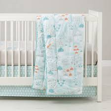 well nested branch  acorn baby bedding  the land of nod