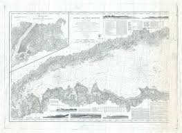 Long Island Sound Western Sheet Geographicus Rare