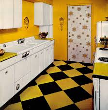 1950s Kitchen Furniture Six Kitchen Designs From 1953 Avco American Kitchens Retro