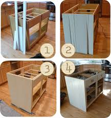 homemade kitchen island plans unique modern diy kitchen island from cabinets ikea farmhouse plans rustic
