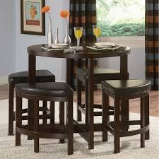 cherry counter height piece: piece counter height dining set in cappuccino finish by coaster