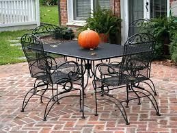 outdoor wrought iron furniture. Wrought Iron Outdoor Chairs Image Of Metal Furniture Patio Garden For . E