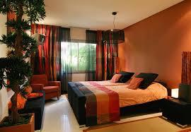 Wonderful Brown And Orange Bedroom Ideas
