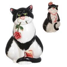 <b>фигурка LEFARD Кошка 10х7х15см</b> керамика | abskshop.ru