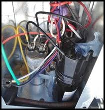 installing hard start capacitor into my rv air conditioner Hvac Wiring Diagram For Cap run capacitor location hard start cap installed hvac wiring diagram for carrier