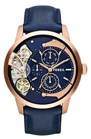 25 best ideas about men s watches nice mens fossil townsman twist leather strap watch if only this watch didn t have a leather strap and the dial had numbers on it it would be fantasticly beautiful