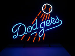 Neon Signs Los Angeles Enchanting Custom Business NEON SIGN Board For MLB LOS ANGELES DODGERS BASEBALL