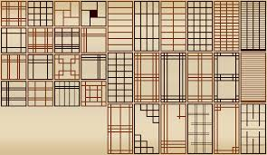 Shoji Screen Patterns by tweaqr ...
