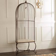 Birdcage Accent Chair iron