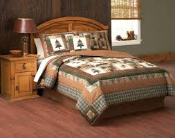 medium image for cabin comforter sets items categories lodge quilt bedding moose outdoor hunting rustic themed