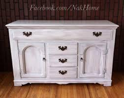 wondrous diy shabby chic vintage dresser furniture makeover white buffet tv console