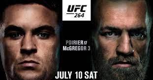 UFC 264 Poirier vs McGregor 3: time ...