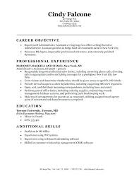 Administrative Assistant Duties Resumes Sample Resume For Office Assistant Position