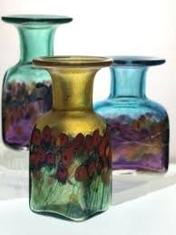 robert held art glass mini vases by held art glass robert held art glass vase