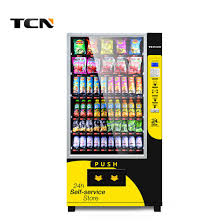 Vending Machine Bill Acceptor Delectable China Tcn Snacks And Beverage Combo Vending Machine With Bill