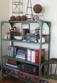 Industrial Bookcase Diy Vintage Industrial Bookshelves Styles Design Ideas Decors