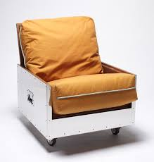 functions furniture. Naihan Li Conceals Furniture Functions In Metal Crates