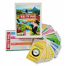 Trò chơi Bài tỷ Phú phiên bản Tiếng Việt cao cấp, dành cho trẻ từ 8 tuổi  trở lên [Giá rẻ]