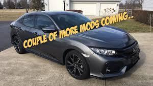 honda civic hatchback modified. more mods for my 2017 honda civic hatchback modified a