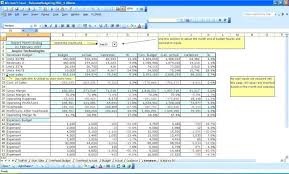 Business Budgets Templates Monthly Budget Template For Excel ...