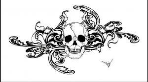 Gothic Skull Design 35 Gothic Skull Tattoos