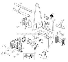 oreck bb1100db parts list and diagram type 3 ereplacementparts com