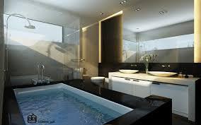granite bathrooms. Great Designing Modern Bathroom Accessories Ideas : Contemporary Elegant Design With Granite Bathrooms