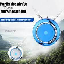 Taşınabilir Yuvarlak Giyilebilir Negatif İon Hava Temizleyici Kolye Temizleyici  Temizleyici – online alışveriş sitesi Joom'da ucuza alışveriş yapın
