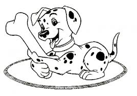 101 dalmatians coloring pages printable printable coloring pages