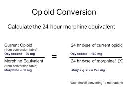 65 Surprising Globalrph Opioid Conversion