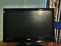 haier 22 inch led tv. haier 22-inch led tv under warranty, it is a, works perfectly, no, type 22 inch led tv e