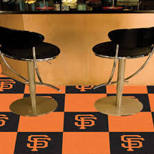 carpet tile mlb san francisco giants 18x18 inches 20 per carton san francisco flooring s30 francisco