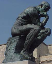 Image result for auguste rodin with the thinker