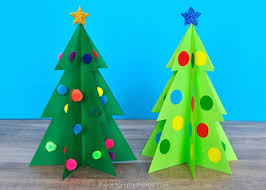 Crystal Christmas Trees From Clear Push Pins  Paper Plate And PlaneFoam Christmas Tree Crafts