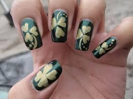 St. Patrick's Day Shamrock/Clover | DIY Nail Art Tutorial - YouTube