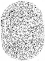 57 Dessins De Coloriage Mandalas Fleurs Imprimer Sur Laguerche