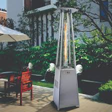 alva designer glass patio heater gas extreme