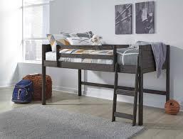 Ashley Furniture Caitbrook Twin Loft Bed Frame in Grey