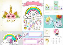 Aplicaciones Para Hacer Invitaciones Gratis Fiesta De Unicornios Invitaciones Para Imprimir Gratis