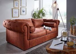 Sofa 187x115x77 Cognac Windsor 107